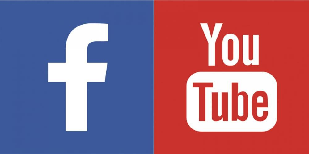 commercials on facebook and youtube